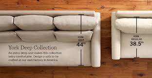 Design A Sofa York Collection Pottery Barn
