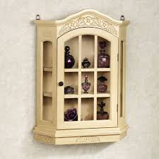 curio cabinet chic curio wall cabinet incredible ideas furniture