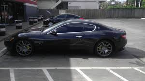 maserati grancabrio black temporary wheel spray in dark grey maserati forum