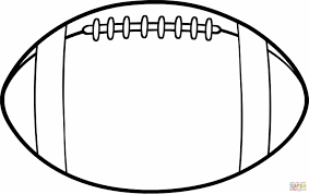 Football Ball Coloring Pages Soccer Page Sheets To Print Color Alabama Crimson Tide Coloring Pages