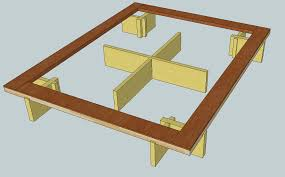 Make Your Own Platform Bed Frame by Bed How To Build A Platform Bed Frame Home Interior Design