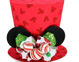 mickey mouse top hat christmas tree topper mickey u0027s