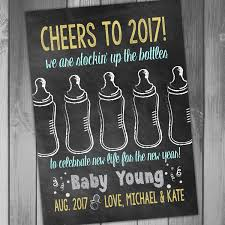 baby announcement new years pregnancy announcement baby announcement we are