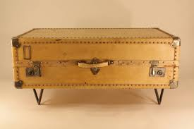 Suitcase Coffee Table Suitcase End Table Best Table Decoration With Regard To Vintage