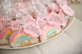 babyshower favors unicorn baby shower theme rainbow cookies favors baby shower