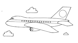 aeroplane drawing for kids how to draw a plane airplane boeing