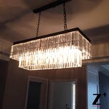 Rectangle Chandeliers Rectangle Chandelier Beautiful Magnificent Lighting Design