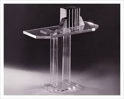 Ghost Console Table Ghost Column Console Table In Acrylic Jizaro