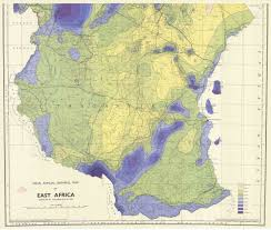 Northern Africa Map by Mean Annual Rainfall Map Of East Africa South Sheet Esdac