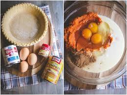 easy 5 ingredient pumpkin pie recipe sweetphi