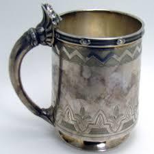 silver mug sterling silver mug with robert lenox banks erastus corning