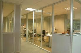 cloisons bureaux cloisons de bureaux cloisons aluminium naturel panneaux melamines