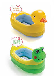 Baby Foldable Bathtub New Fashion Inflatable Bath Tub Baby Portable 0 2 Years Old Infant