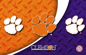 Clemson Flags Clemson Tigers Wallpapers Hd Wallpaper Wiki