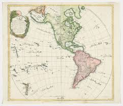 The Americas Map by Mahmud Raif Efendi Fl 1793 1804 Map Of The Americas From The