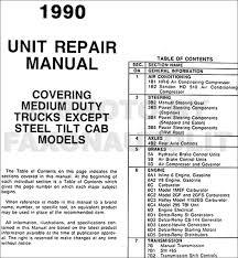 1990 gmc chevy medium duty overhaul manual original