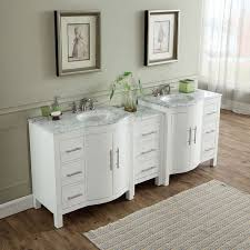 Contemporary Bathroom Vanity Cabinets Silkroad Exclusive 89 Inch Contemporary Bathroom Vanity Double