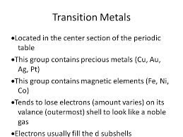 Fe On The Periodic Table Intro To The Periodic Table Ppt Video Online Download