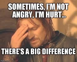 Hurt Meme - frustrated boromir meme imgflip