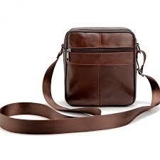 high quality 2017 brand genuine leather bag vintage designer men