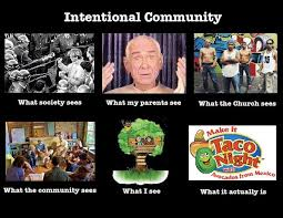 Meme Community - what i do meme intetional community communitypractice