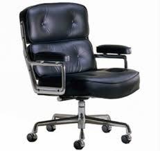 Confortable Fauteuil Pivotant De Bureau En Cuir Makler Grand In Chaise De Bureau Confortable