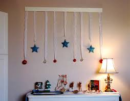 brilliant wall decorating ideas for christmas for home decorating