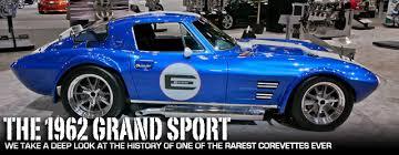 rarest corvette the 1962 c2 corvette grand sport one of the rarest corvettes