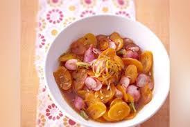 cuisine sucré salé carottes en sucré salé au sirop de plemousse