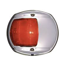 perko led navigation lights perko led side light red 12v chrome plated housing chrome