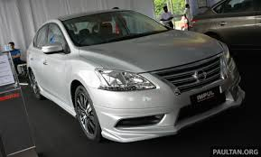 nissan impul nissan sylphy tuned by impul introduced u2013 aerokit bigger wheels