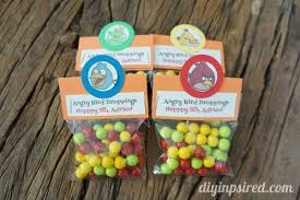 Easy Favors by Easy Diy Angry Birds Favors Diy Inspired