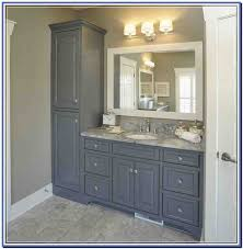 Bathroom Vanity With Side Cabinet Fascinating Bathroom Vanity With Side Cabinet Bathrooms