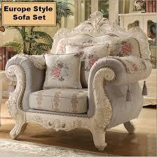 Wooden Carving Sofa Designs Webetop European Living Room Sofa Combination Solid Wood Furniture
