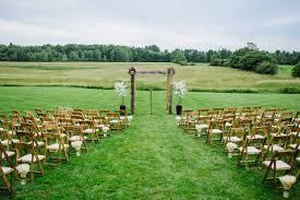 Backyard Country Wedding Backyard Maine Wedding Rustic Wedding Chic