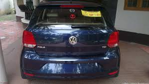 night blue german beauty vw polo 1 5 tdi hl
