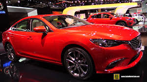 mazda m6 2016 mazda 6 grand touring exterior and interior walkaround