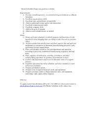 Scheduler Resume Sample by Production Scheduler Resume Sales Scheduler Lewesmr