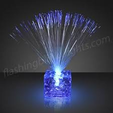 blue centerpieces led party centerpieces by flashingblinkylights