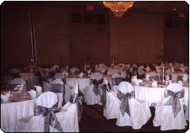 wedding reception chair covers chair covers st louis mo wedding reception chair cover rental