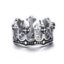 stainless steel rings for men fleur de lis ring ebay