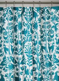 Threshold Medallion Shower Curtain by Emejing Turquoise Shower Curtain Images Interior Design Ideas
