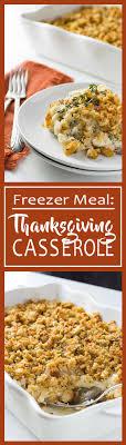 thanksgiving dinner casserole make ahead meal