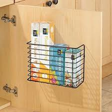 kitchen cabinet door storage racks cabinet door rack kitchen cupboard metal organiser hanging storage basket ebay