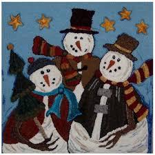 Snowman Rug 77 Best Rug Hooking Snowmen Images On Pinterest Rug Hooking
