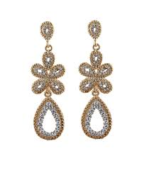 gold earrings for wedding bridal earrings bridal earrings with austrian crystals gold