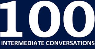 100 english conversations intermediate level learn english