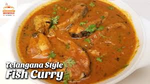 fish curry in telangana style chepala pulusu recipe how to cook