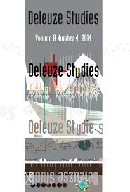 design studies journal template cover for the deleuze studies journal