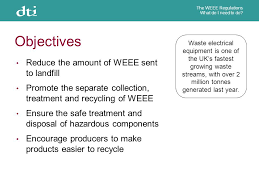 the uk weee regulations what do i need to do the weee regulations